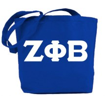Zeta Phi Beta Jumbo Tote Bag