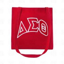 Delta Sigma Theta Messenger Tote Bag