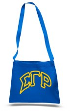 Sigma Gamma Rho Messenger Tote Bag