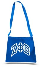 Zeta Phi Beta Messenger Tote Bag