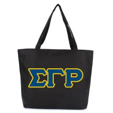 Sigma Gamma Rho Zipper Tote Bag