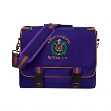 Omega Psi Phi Techtron Messenger Bag