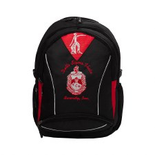 Delta Sigma Theta Embroidered Commuter Backpack