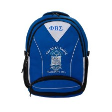 Phi Beta Sigma Embroidered Commuter Backpack
