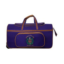 Embroidered Trolley Bag