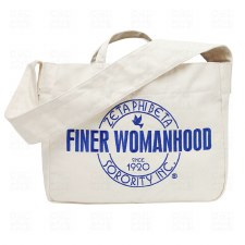 Zeta Phi Beta Finer.. Shoulder Tote