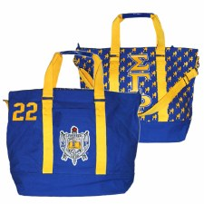 Sigma Gamma Rho Greek Canvas Bag