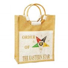 Order the Eastern Star Mini Lady Jute Bag