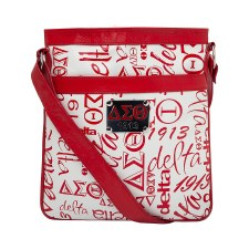 Delta Sigma Theta Signature Crossbody Purse