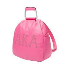 Alpha Kappa Alpha Studded Letters Backpack Purse