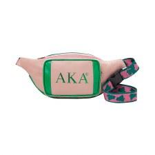 Alpha Kappa Alpha PU Fanny Pack