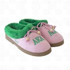 Alpha Kappa Alpha Cozy Slippers