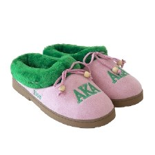 Alpha Kappa Alpha Cozy Slippers
