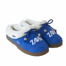 Zeta Phi Beta Cozy Slippers