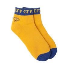 Sigma Gamma Rho Color Bootie Socks
