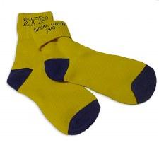 Sigma Gamma Rho Fold Socks