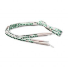 Alpha Kappa Alpha Shoelaces