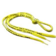 Alpha Phi Alpha Shoelaces