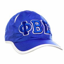 Phi Beta Sigma Feather Light Cap
