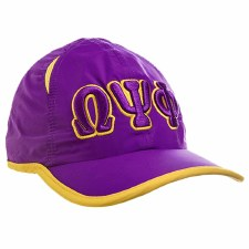 Omega Psi Phi Feather Light Cap