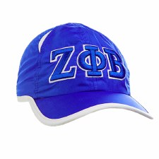 Zeta Phi Beta Feather Light Cap