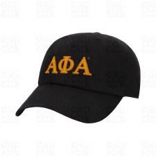 Alpha Phi Alpha Felt Letters Dad Hat