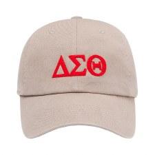 Delta Sigma Theta Felt Letters Dad Hat