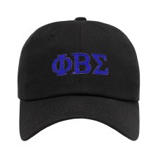 Phi Beta Sigma Felt Letters Dad Hat