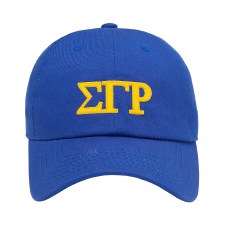 Sigma Gamma Rho Felt Letters Dad Hat