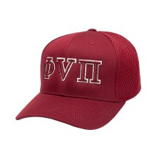 Phi Nu Pi 3D Letters Fitted Cap