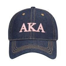 Alpha Kappa Alpha Denim Cap