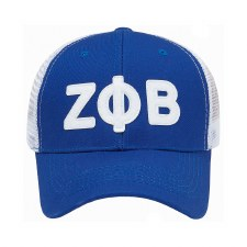 Zeta Phi Beta Trucker hat