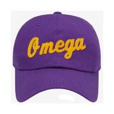 "Omega Psi Phi ""Omega"" Dad Cap"