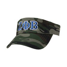 Zeta Phi Beta Embroidered Visor