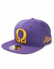 Omega Psi Phi Letter Hat