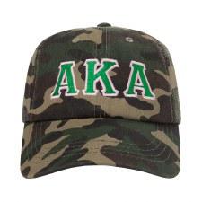 Alpha Kappa Alpha Camo Cap
