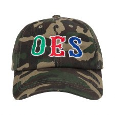 Order of the Eastern Star Camo Cap
