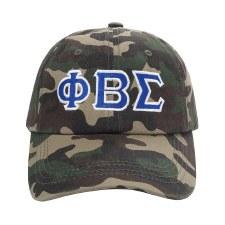 Phi Beta Sigma Camo Cap
