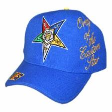 Order of the Eastern Star Script Cap