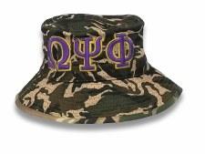 Omega Psi Phi Camo Bucket Hat