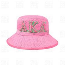 Alpha Kappa Alpha Letter Bucket Hat