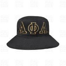 Alpha Phi Alpha Letter Bucket Hat