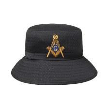 Mason Letter Bucket Hat