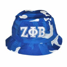 Zeta Phi Beta Camo Bucket Hat