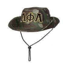 Alpha Phi Alpha Safari Camo Hat