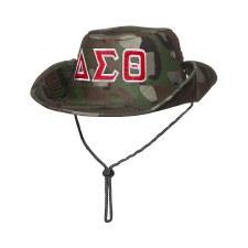 Delta Sigma Theta Safari Camo Hat