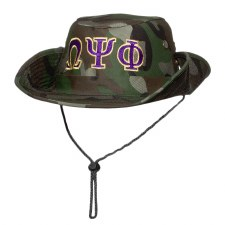 Omega Psi Phi Safari Camo Hat