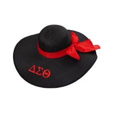 Delta Sigma Theta Floppy Beach Hat