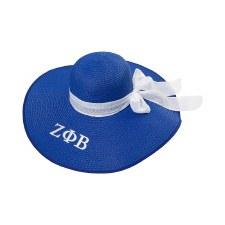 Zeta Phi Beta Floppy Beach Hat