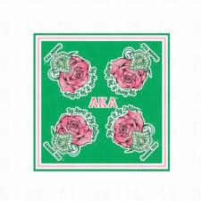 Alpha Kappa Alpha Rose Scarf